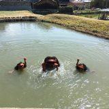 【福崎町】河童の池で有名な辻川山公園に行ってきた!3歳児でも楽しめ・・・る?!