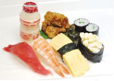 キッズ寿司の写真です