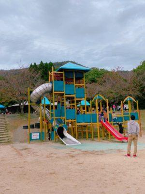 市ノ池公園の大型遊具